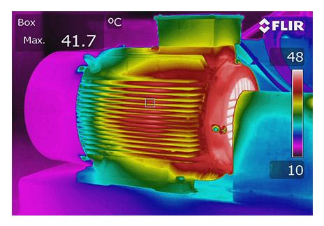 Overheated motor