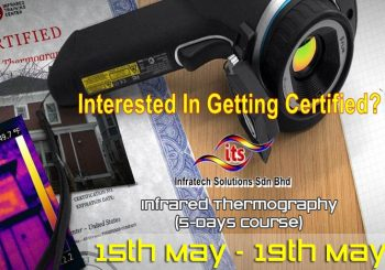<strong>2017 Infrared Thermography (5 Days Course)</strong>
