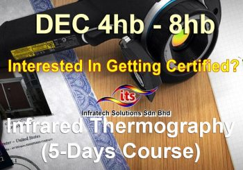 <strong>4 Dec 2017 Infrared Thermography (5 Days Course)</strong>